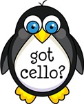 Cello Music Penguin T-shirts and Gifts