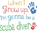 Future Scuba Diver Kids T-shirts