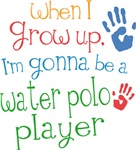 Future Water Polo Player Kids T-shirts