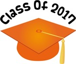 2017 School Class Graduation (Orange)
