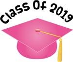 2019 School Class Graduation (Pink)