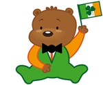 IRISH PRIDE TEDDY BEAR T-SHIRTS