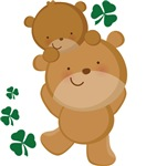 Irish Bear St Patricks T-shirts