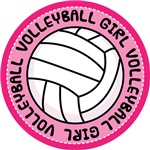 Volleyball Girl Player Fan T-shirts and Gifts