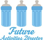 Future Activities Director Baby T-shirts