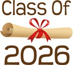 2026 School Class Diploma Design Gifts