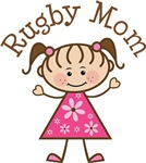 Rugby Mom T-shirt Gifts
