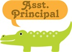 Assistant Principal Funny Alligator Tees