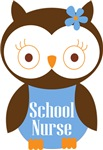SCHOOL NURSE OWL WOMENS APPAREL