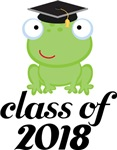 2018 Graduation Frog Gifts and Tshirts
