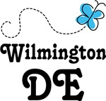 Wilmington Delaware Butterfly T-shirts