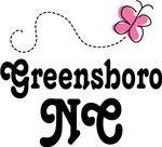 Greensboro North Carolina Butterfly T-shirts