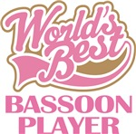 Worlds Best Bassoon Player Band T-shirts