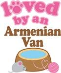 Loved By An Armenian Van Tshirt Gifts
