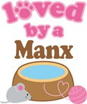 Loved By A Manx Tshirt Gifts