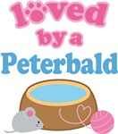 Loved By A Peterbald Cat T-shirts