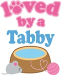 Loved By A Tabby Cat T-shirts