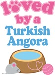 Loved By A Turkish Angora Cat T-shirts