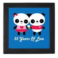 PANDA COUPLE ANNIVERSARY GIFTS AND TSHIRTS