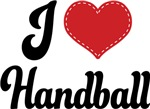 I Heart Handball T-shirts and Gifts