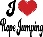 I Heart Rope Jumping T-shirts and Gifts