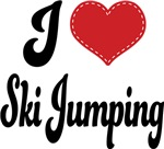 I Heart Ski Jumping T-shirts and Gifts