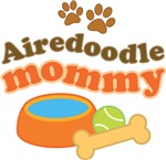 Airedoodle Mommy T-shirts and Gifts