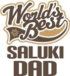 Saluki Dad (Worlds Best) T-shirts