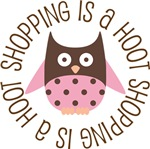SHOPPING IS A HOOT OWL TEES AND GIFTS