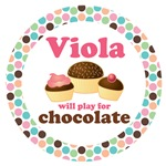 VIOLA MOD DOT MUSIC GIFTS AND TEES