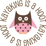 KAYAKING IS A HOOT OWL TEES AND GIFTS