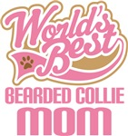 Bearded Collie Mom T-shirts and Gifts