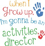 Future Activities Director Kids T-shirts