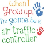 Future Air Traffic Controller Kids T-shirts