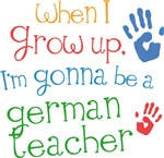 Future German Teacher Kids T-shirts