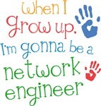 Future Network Engineer Kids T-shirts