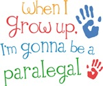 Future Paralegal Kids T-shirts