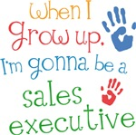 Future Sales Executive Kids T-shirts