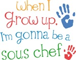 Future Sous Chef Kids T-shirts