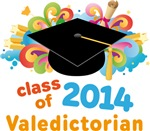 Valedictorian Colorful 2014 Graduate Gifts
