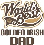 Golden Irish Dad (Worlds Best) T-shirts