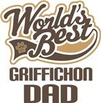 Griffichon Dad (Worlds Best) T-shirts