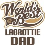 Labrottie Dad (Worlds Best) T-shirts