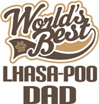 Lhasa-Poo Dad (Worlds Best) T-shirts