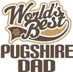 Pugshire Dad (Worlds Best) T-shirts