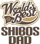 Shibos Dad (Worlds Best) T-shirts