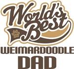 Weimardoodle Dad (Worlds Best) T-shirts