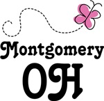 Montgomery Ohio Butterfly T-shirts and Hoodies