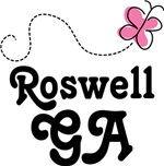 Roswell Georgia Butterfly T-shirts and Hoodies