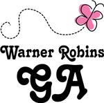 Warner Robins Georgia Butterfly T-shirts